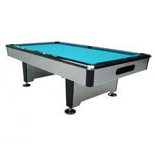 Silver Knight 8' Ball Return Pool Table