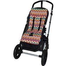 Plush Reversible Stroller Liner