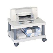 Wave Under Desk Printer Stand in Grey