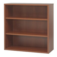 Apres Modular Storage in Open Bookcase in Cherry