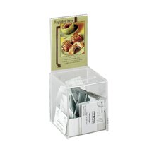 Acrylic Small Range Box in Clear Glass