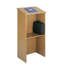 Stand-Up Lectern in Medium Oak