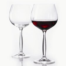Opera Burgundy Glass (Set of 2)