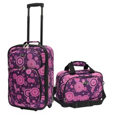 Fashion 2 Piece Carry-On Luggage Set