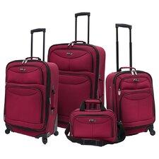 Fashion 4 Piece Spinner Luggage Set