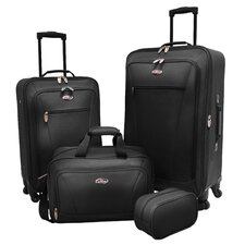 Charleville 4 Piece Spinner Luggage Set