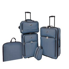 San Reno 5 Piece Luggage Set