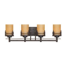<strong>Designers Fountain</strong> Mission Ridge 4 Light Vanity Light
