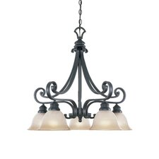 <strong>Designers Fountain</strong> Barcelona 5 Light Chandelier