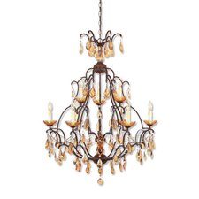<strong>Designers Fountain</strong> Bollo 9 Light Chandelier