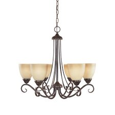Stratton 6 Light Chandelier