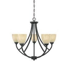 Tackwood 5 Light Chandelier