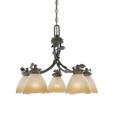 <strong>Designers Fountain</strong> Timberline 5 Light Chandelier