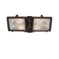 Quartz Halogen Twin Security Light