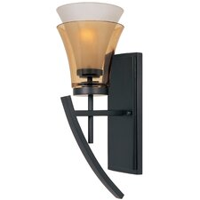 <strong>Designers Fountain</strong> Majorca 1 Light Wall Sconce