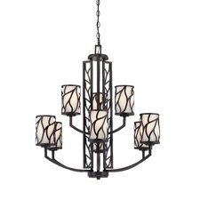 <strong>Designers Fountain</strong> Modesto 9 Light Chandelier