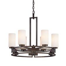 Del Ray 6 Light Chandelier