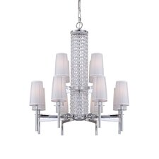 Candence 12 Light Chandelier