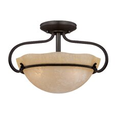 <strong>Designers Fountain</strong> Lauderhill 3 Light Semi-Flush Mount