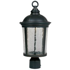 "<strong>Designers Fountain</strong> Outdoor 1 Light 18.5"" Post Lantern"