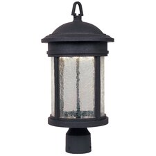 "<strong>Designers Fountain</strong> Outdoor 1 Light 18.25"" Post Lantern"