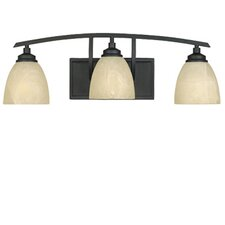 <strong>Designers Fountain</strong> Tackwood 3 Light Vanity Light