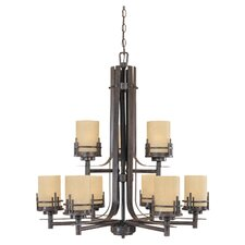 Mission Ridge 9 Light Chandelier