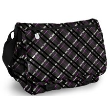 Terry Campus Preppy Messenger Bag