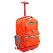 Sunset Multi Pocket Rolling Backpack