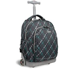 Pecan Rolling Backpack
