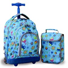 <strong>J World</strong> Lollipop 2 Piece Kid's Rolling Luggage Set