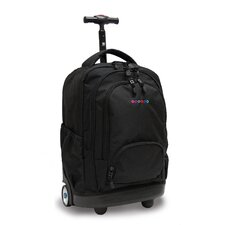 <strong>J World</strong> Sunbeam Laptop Rolling Backpack