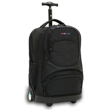 <strong>J World</strong> Sunburst Laptop Rolling Backpack