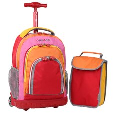 Lollipop 2 Piece Kid's Rolling Luggage Set