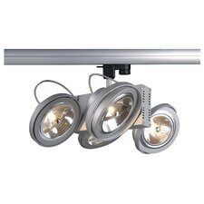 Tec 4 Light Track Light with 3 Circuit Adapter