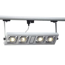 Aixlight Kardatrack Track System for 3-Phase 4 Light Track Light