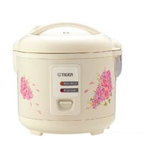<strong>Tiger</strong> Steamer Pan Rice Cooker with Indicator Lights