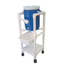 "47"" Hydration Cart with 5 Gallon Water Cooler"