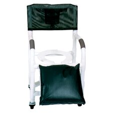 Standard Deluxe Shower Chair for Uni and Bi Lateral Amputee Individuals and Optional Accessories