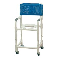 <strong>MJM International</strong> Standard Deluxe Adjustable Height Shower Chair with Optional Accessories