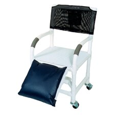 "Standard Deluxe 18"" Shower Chair and Optional Accessories"