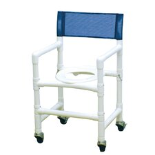 Standard Deluxe Folding Capacity Shower Chair with Optional Accessories