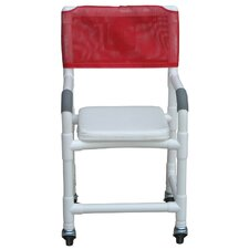 <strong>MJM International</strong> Standard Deluxe Shower Chair with Soft Seat Complete and Optional Accessories