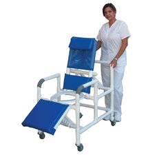 Reclining Shower Chair with Leg Extension