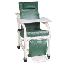 Extra Wide Geriatric Chair with Leg Extensions
