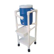 <strong>MJM International</strong> Hydration Cart with 5 Gallon Water Cooler