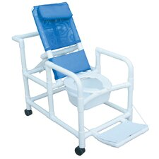 Echo Reclining Shower Chair with Footrest