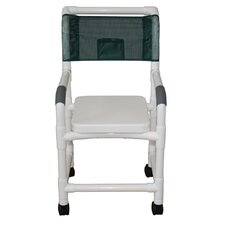 Standard Deluxe Shower Chair with Soft Seat Complete