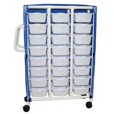 Pull Out Bin Specialty Cart with Cover