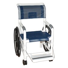 "Self Propelled 21"" Bariatric Wheelchair"